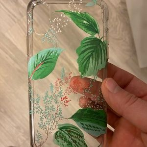 Kate spade iPhone X phone case